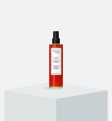 Regenerating hair finish lotion with hibiscus vinegar