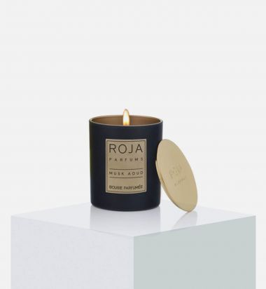 Musk Aoud Candle, 7.8 oz. / 220 g