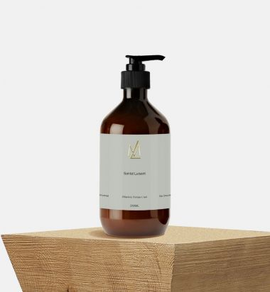 Santal Luisant Gel Douche Body Cleanser
