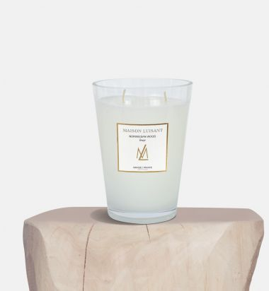 Norwegian Wood Candle